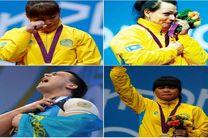 محرومیت 2 تا 8 ساله برای قهرمانان وزنه برداری المپیک لندن