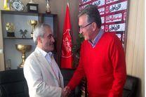 جلسه برانکو و طاهری در باشگاه پرسپولیس