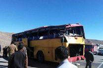 واژگونی اتوبوس در زنجان با 17 مجروح