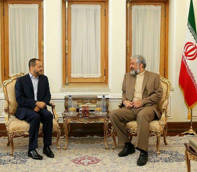 دیدار قائم مقام وزیر امور خارجه عمان با همتای ایرانی خود در تهران