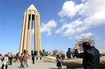 297 هزار نفر از اماکن تاریخی طبیعی همدان بازدید کردند/ آذریها، تهرانیها و خوزستانیها در صدر مسافران نوروزی استان