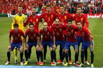 ترکیب تیم ملی فوتبال اسپانیا برابر ایران مشخص شد