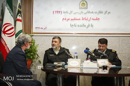 دیدار مردمی فرمانده نیروی انتظامی