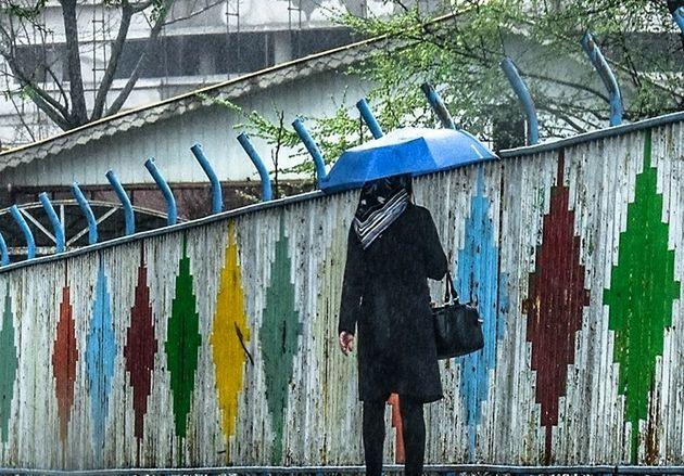 هوای غالب نقاط کشور آخر هفته بارانی است