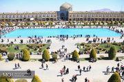 حال و هوای نوروزی میدان امام اصفهان