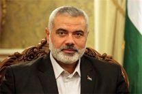 پیام تسلیت اسماعیل هنیه به رهبر انقلاب در پی درگذشت شیخ الاسلام