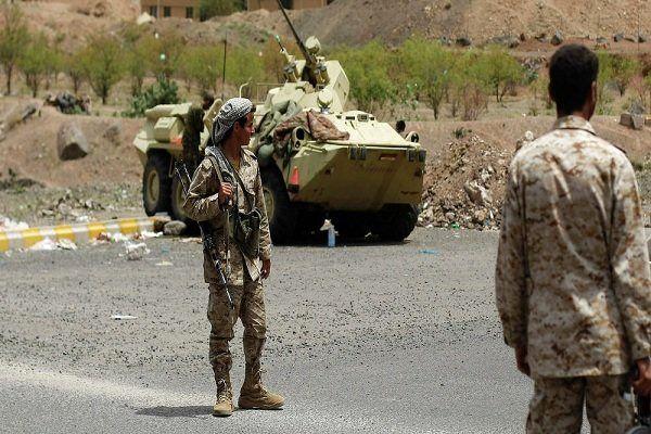 شلیک موشک انصارالله به مواضع ارتش عربستان