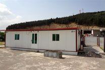 ۳۰۰ کانکس به مناطق زلزله زده توسط وزارت دفاع اهدا شد