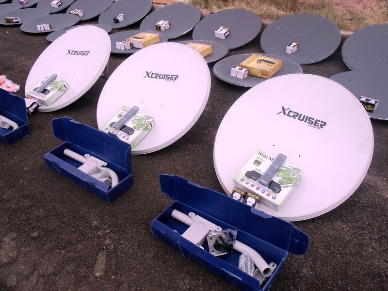 باند تولید تجهیزات ماهواره در جنوب تهران منهدم شد