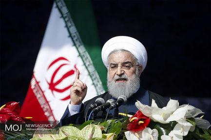 جشن انقلاب اسلامی با حضور رییس جمهوری