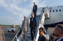 رئیس مجلس وارد فرودگاه رشت شد