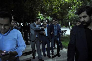 هرندی زیر پای شهردار تهران