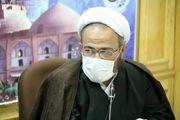 برگزاری نماز عید فطر در فضای باز امامزادگان در اصفهان