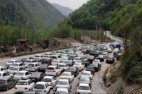یک طرفه شدن مسیر مرزن آباد به کرج