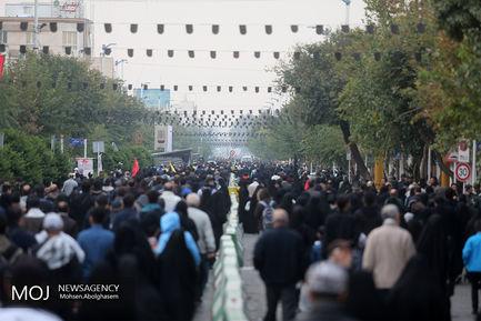 راهپیمایی جاماندگان اربعین حسینی در تهران (۲)