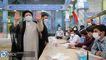 حضور سید ابراهیم رئیسی در انتخابات ریاست جمهوری و شورای شهر