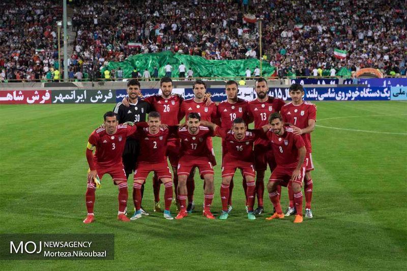 ترکیب ایران و اسپانیا از نظر سایت فیفا