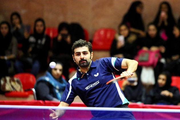 پیروزی عالمیان در مرحله گروهی تور جهانی تنیس روی میز قطر