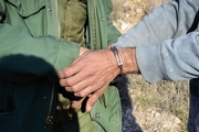 دستگیری یک متخلف شکار در پناهگاه حیات وحش موته اصفهان