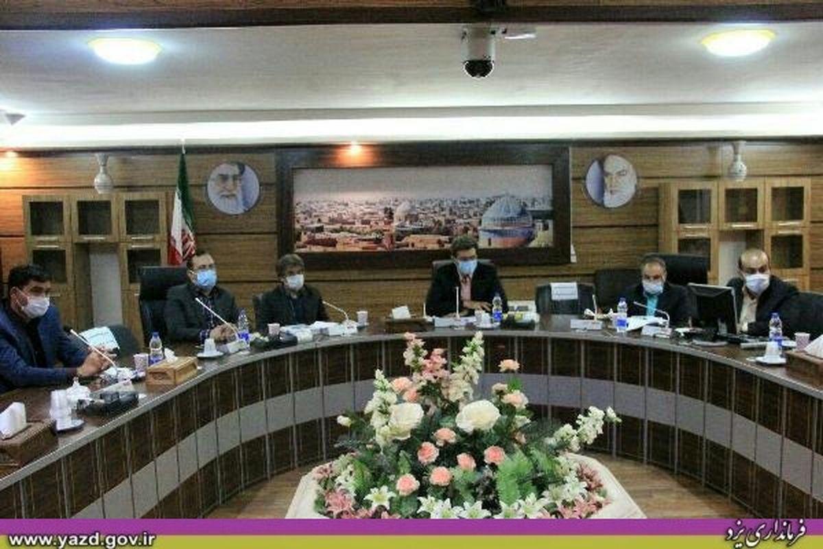 بررسی برای تعیین تکلیف دریاچه پساب تصفیه خانه فاضلاب در فرمانداری یزد