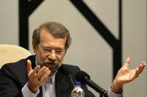 پیام تسلیت لاریجانی به رئیس پارلمان ملی عراق