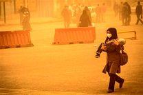 کیفیت هوا در بندرخمیر از مرز قرمز عبور کرد