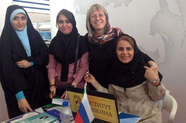 حضور روسیه در نمایشگاه کتاب ایران