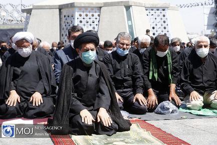 عزاداری ظهر عاشورای حسینی در میدان امام حسین (ع)