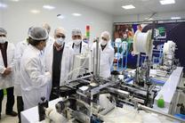 افتتاح خط تمام اتوماتیک تولید ماسک پیشرفتۀ N95