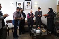 مراسم معارفه رئیس جدید تئاتر شهر برگزار شد