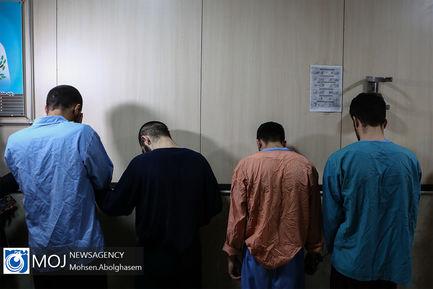 طرح شناسایی و دستگیری سارقان مسلح در منازل شمال تهران