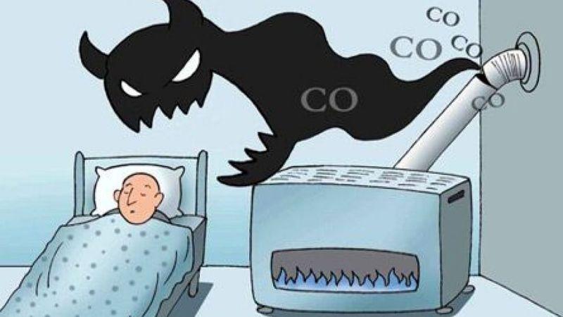 نتیجه تصویری برای گاز مونوکسید کربن