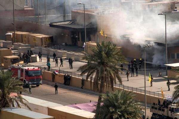 جزئیات حمله راکتی به «منطقه سبز» بغداد