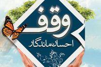 ثبت 2 وقف جدید به ارزش 9 میلیارد ریال در نجف آباد