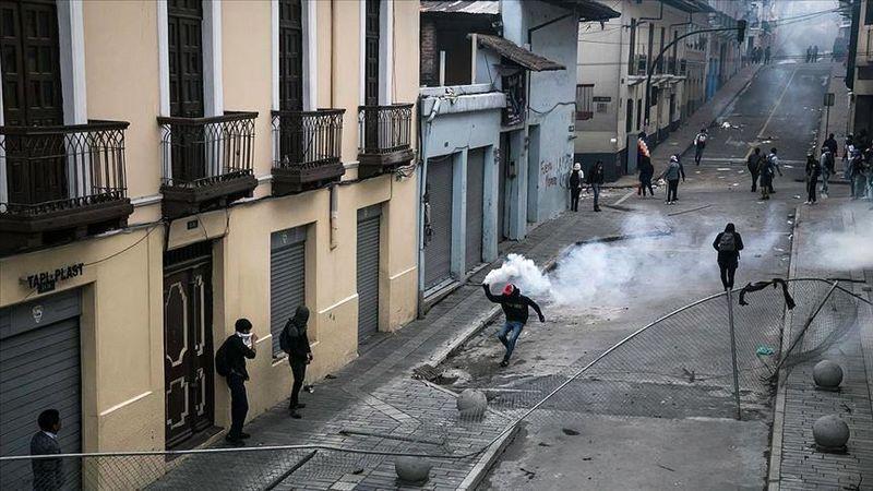 دولت اکوادور 350 معترض در این کشور را دستگیر کرد
