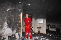 اتصالی برق باعث آتش سوزی منزلی در بندرعباس شد