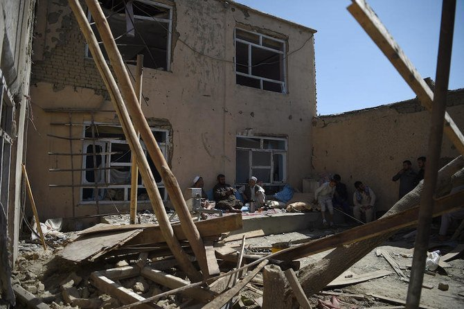 8 غیرنظامی بر اثر حمله هوایی آمریکا در افغانستان کشته شدند