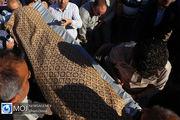 پدر شهید در اردبیل دار فانی را وداع گفت