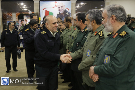 گرامیداشت شهدای مناطق عملیاتی نیروی زمینی سپاه