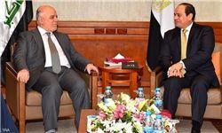 تأکید السیسی بر حمایت مصر از وحدت و ثبات عراق