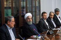 دیدار اعضای شورای شهر با روحانی