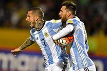 آرژانتین با معجزه مسی به جام جهانی رسید