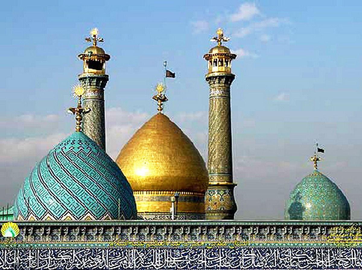 گشوده شدن درهای آستان حضرت عبدالعظیم (ع) به روی زائران