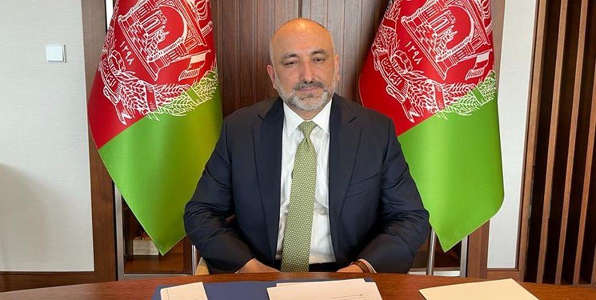 ابتلای وزیر خارجه افغانستان به کرونا
