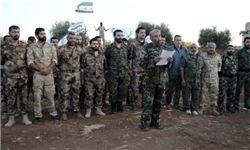 پیشروی تروریستهای معارض در جریان درگیری با داعش در «قلمون» سوریه