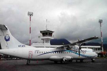برگشت پرواز تهران رامسر به دلیل شرایط نامساعد جوی