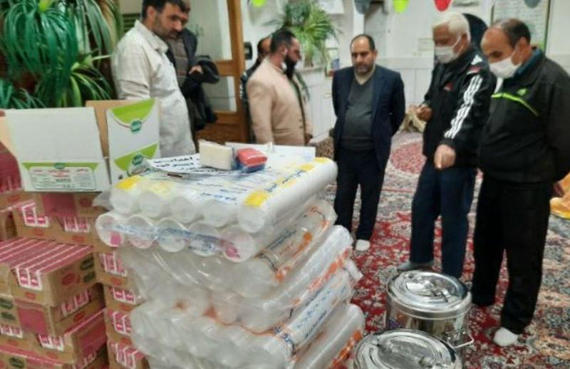 کمک های خودجوش مردم شهرستان خمینی شهر جهت مقابله با ویروس کرونا