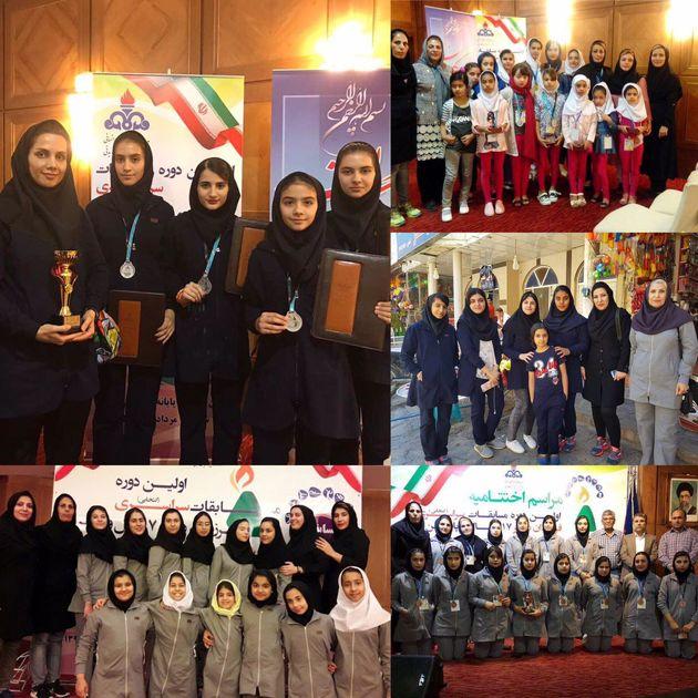 درخش دختران گچسارانی در المپیاد ورزشی / تکمیل افتخارات تیمهای ورزشی نفت و گاز گچساران
