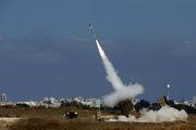 استقرار مجدد سامانه گنبد آهنین در مجاورت باریکه غزه