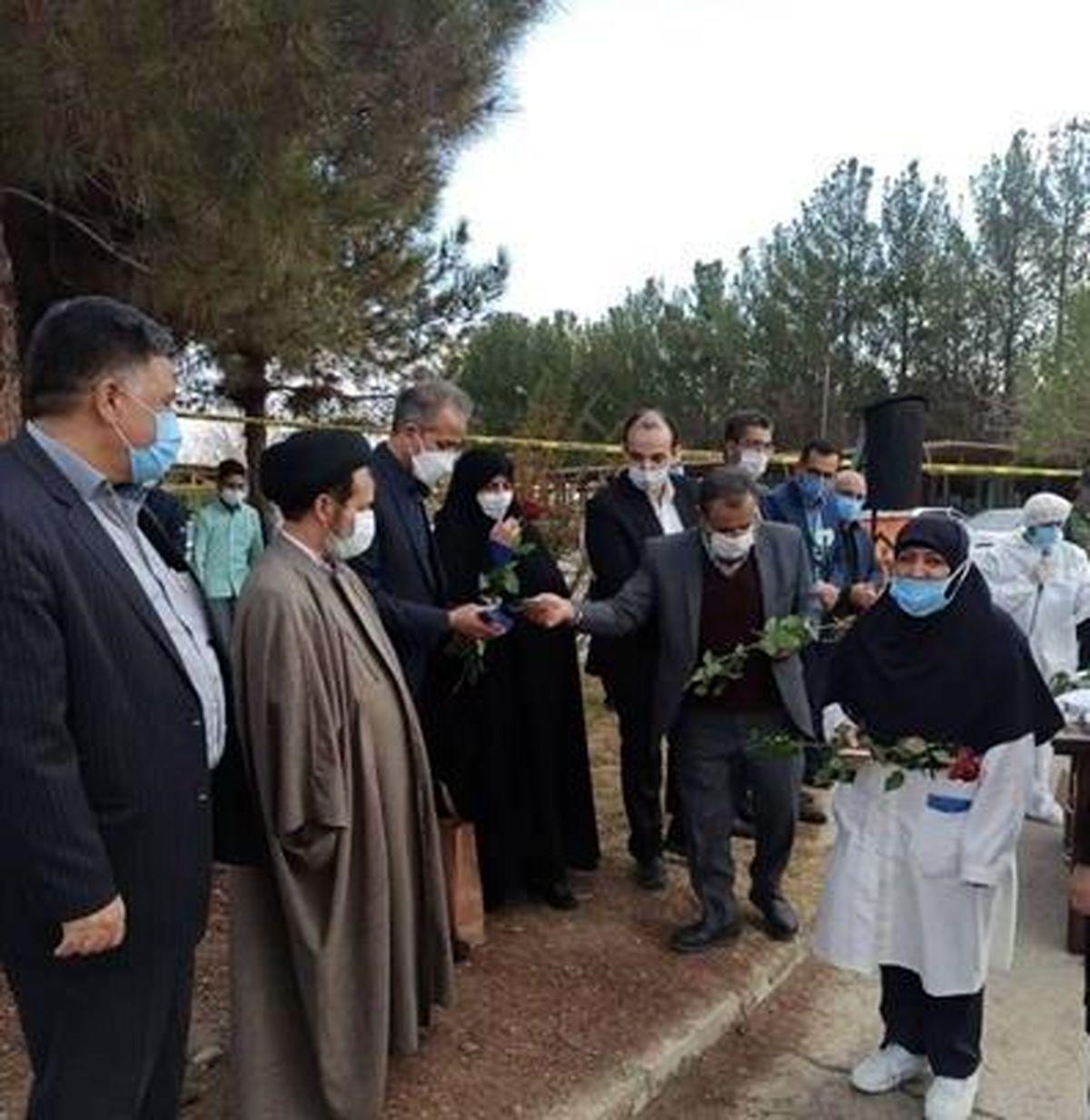 تجلیل شرکت فولاد مبارکه از کادر درمان بیمارستان محمد رسول الله(ص) مبارکه
